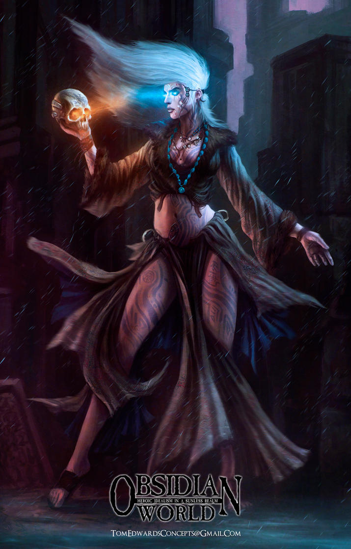 The Mystic by TomEdwardsConcepts