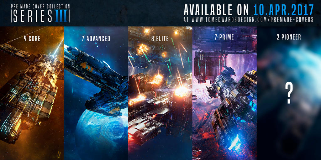 Pre-made cover series 3 - out now by TomEdwardsConcepts