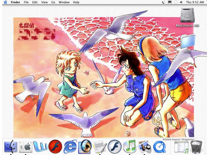 Desktop Mac by m-inu