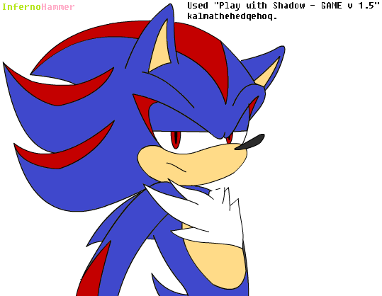 Shadic the Hedgehog by InfernoHammer on DeviantArt