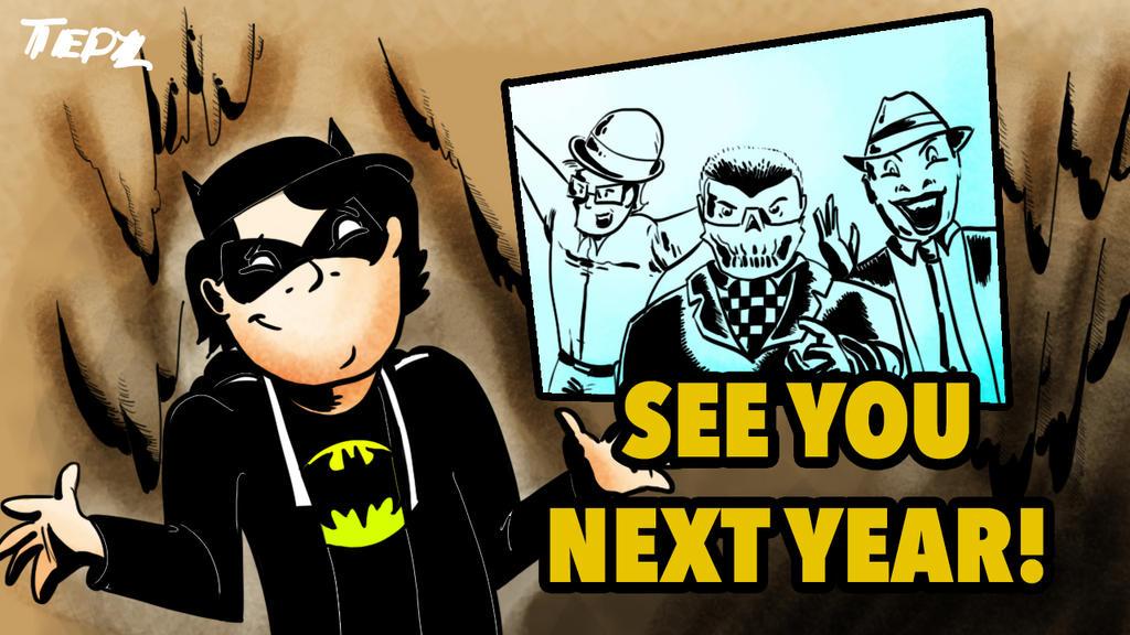 Batman Chronicles Thank You Card by Tedzey71
