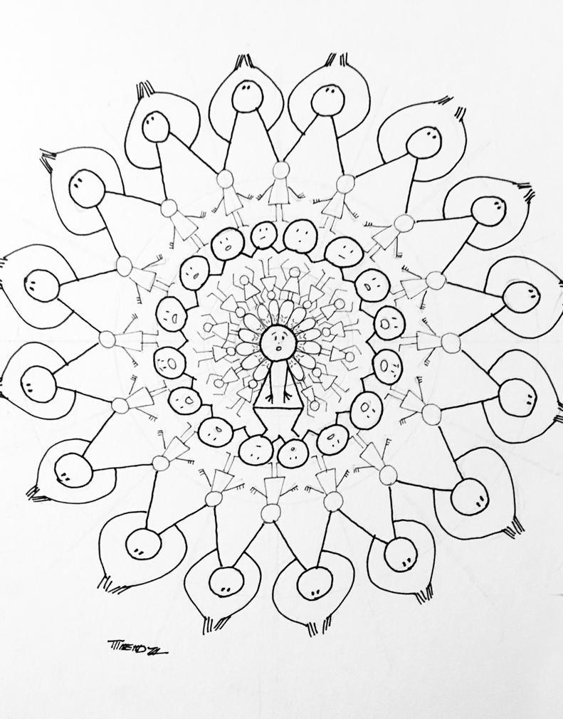 Mr Polly Mandala by Tedzey71