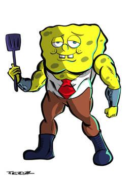 Spongebob... THE MARVEL WAY!