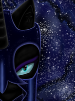 Nightmare Moon by CharlotteLaNoire