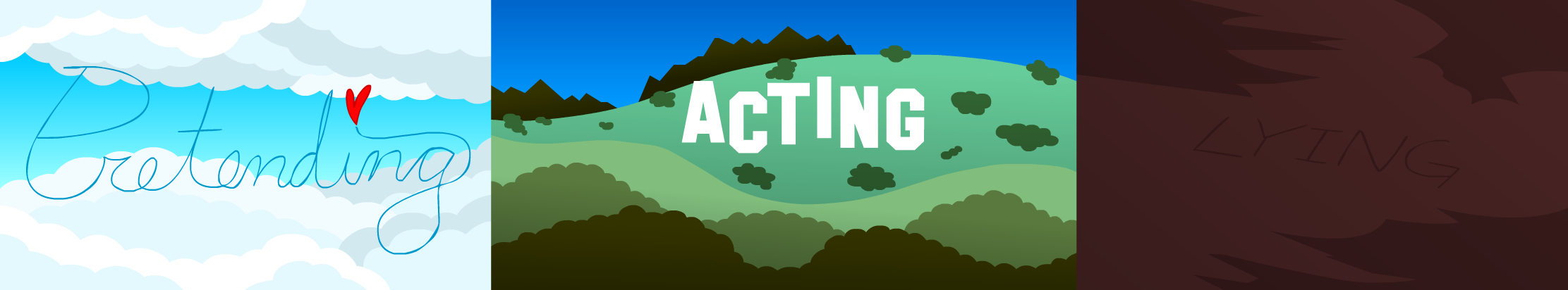 acting vs lying Act or lie acting and lying have some similarities, that are why people get confused with the usage of these two words many things.