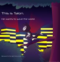Talon is Off Saving the World by AnimatedJames