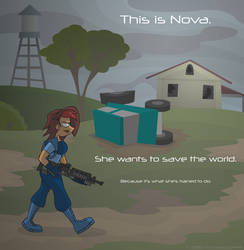 Nova is Off Saving the World