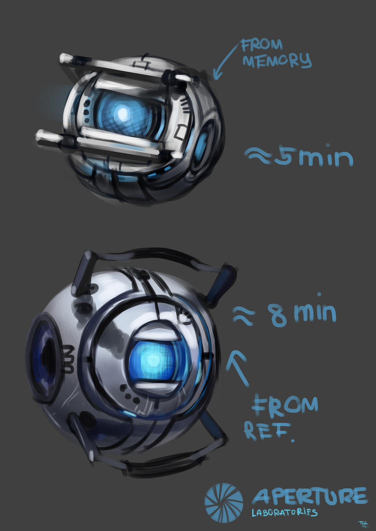 Wheatley from Portal 2