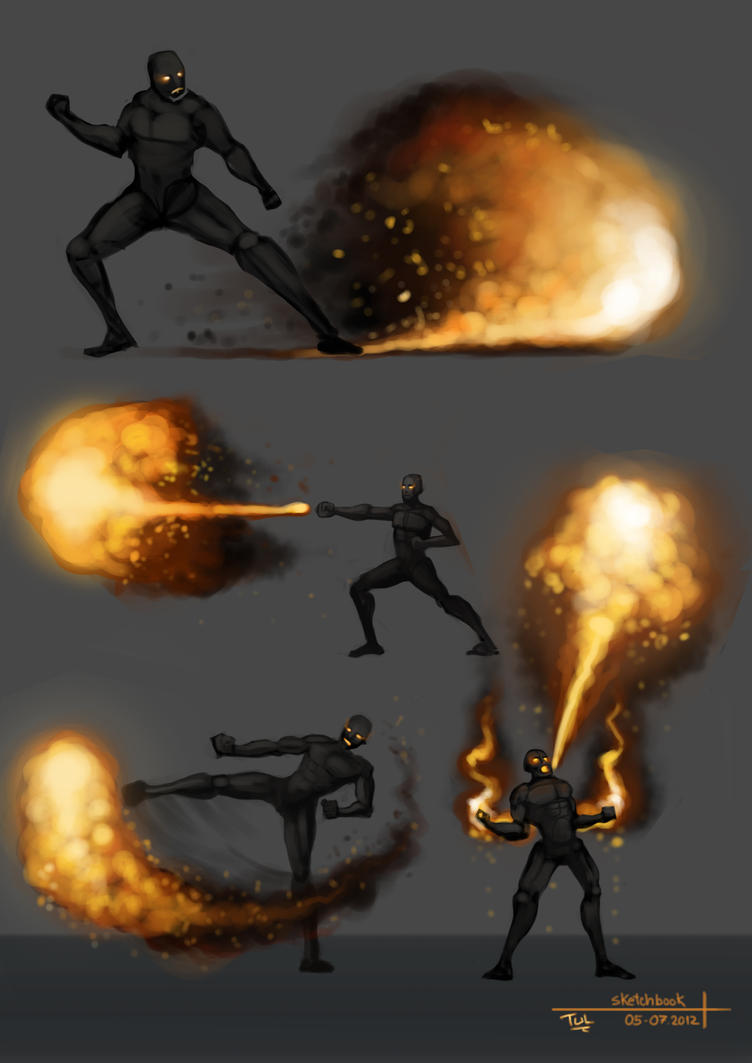 Sketchbook Firebender