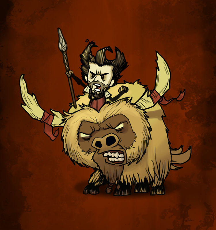 Don't starve FAN ART