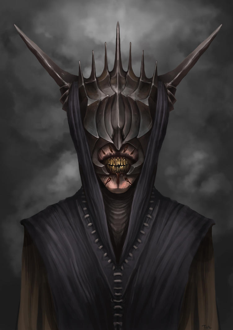 Mouth Of Sauron by Andy-Butnariu