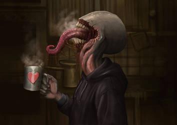 Caffeine bastard by Andy-Butnariu