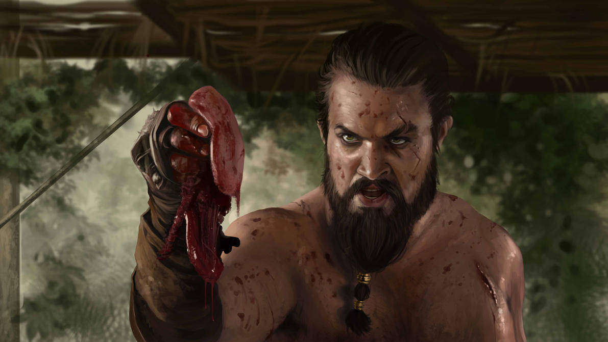 You eat Khal Drogo Shawarma now !