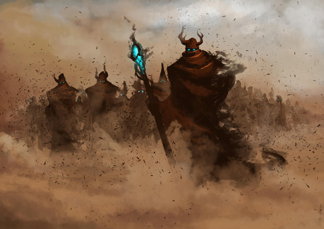 Sand People _ Spitpaint