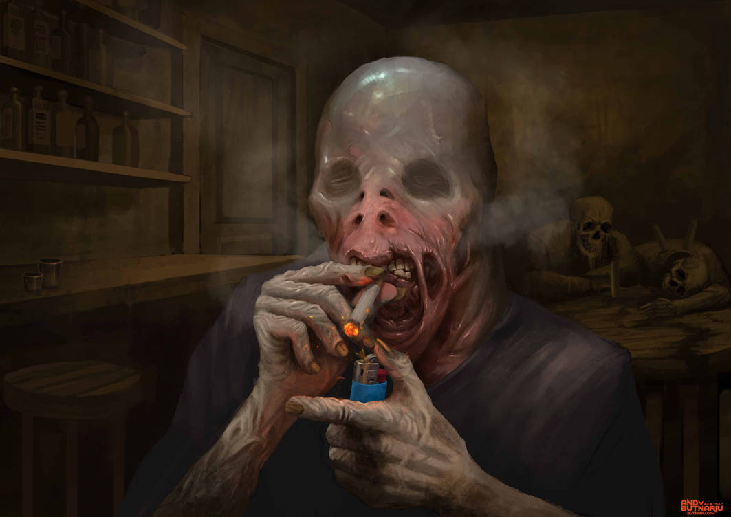 Smoking Bastard by Andy-Butnariu
