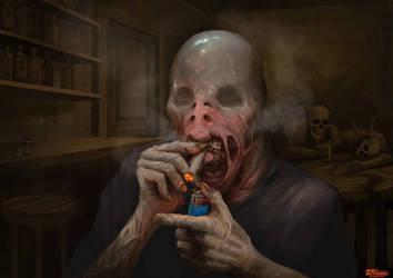 Smoking Bastard by Andy-Butnariu