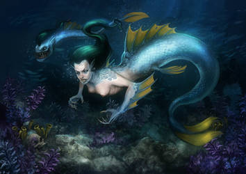 Mermaid by Andy-Butnariu