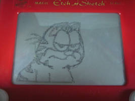 Etch A Sketch: Garfied