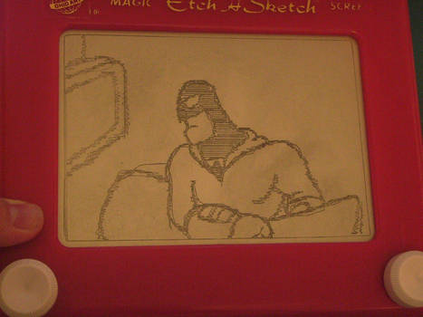 Etch A Sketch: Space Ghost