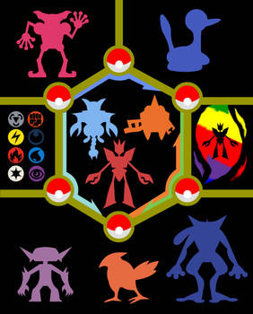 My Pokemon Team illustration