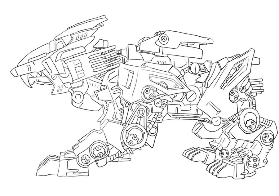 Image Result For Liger Coloring Page