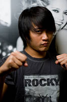 Rocky shirt and me by pandashekki
