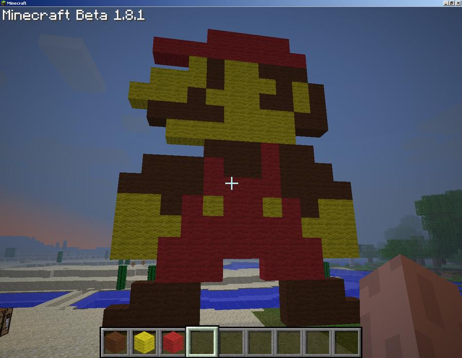 Minecraft Snes Pixel Mario By Corruptdash ...