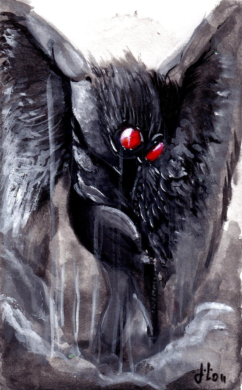Mothman by Batawp