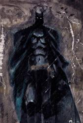 The dark Knight by Batawp