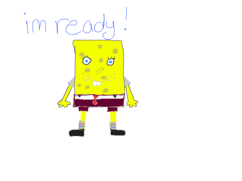 Sponge Bob by tiggerbratz