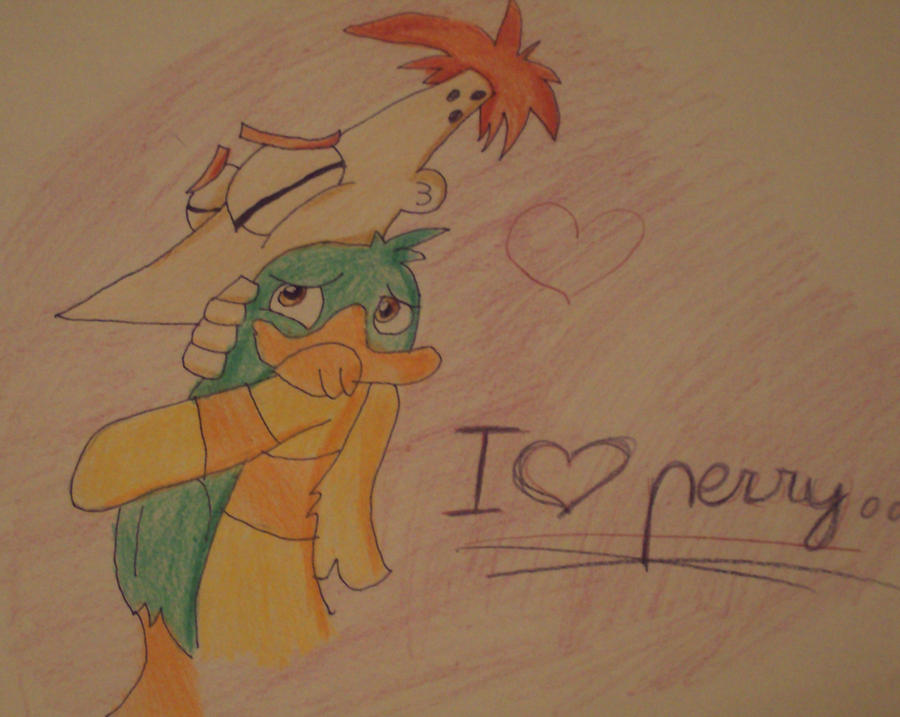 .:I love you perry...:. by JuLyGoOd