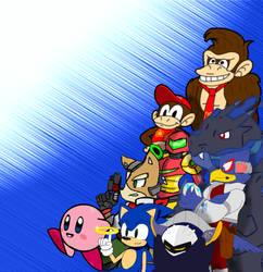 Super Smash Bros Collab -WIP- by Tokketsu