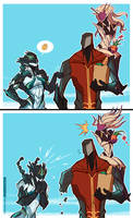 WARFRAME - Wayda Go...Bro!! by ChickenDrawsDogs