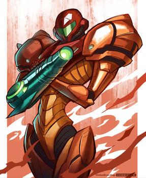 METROID - Samus' Armor