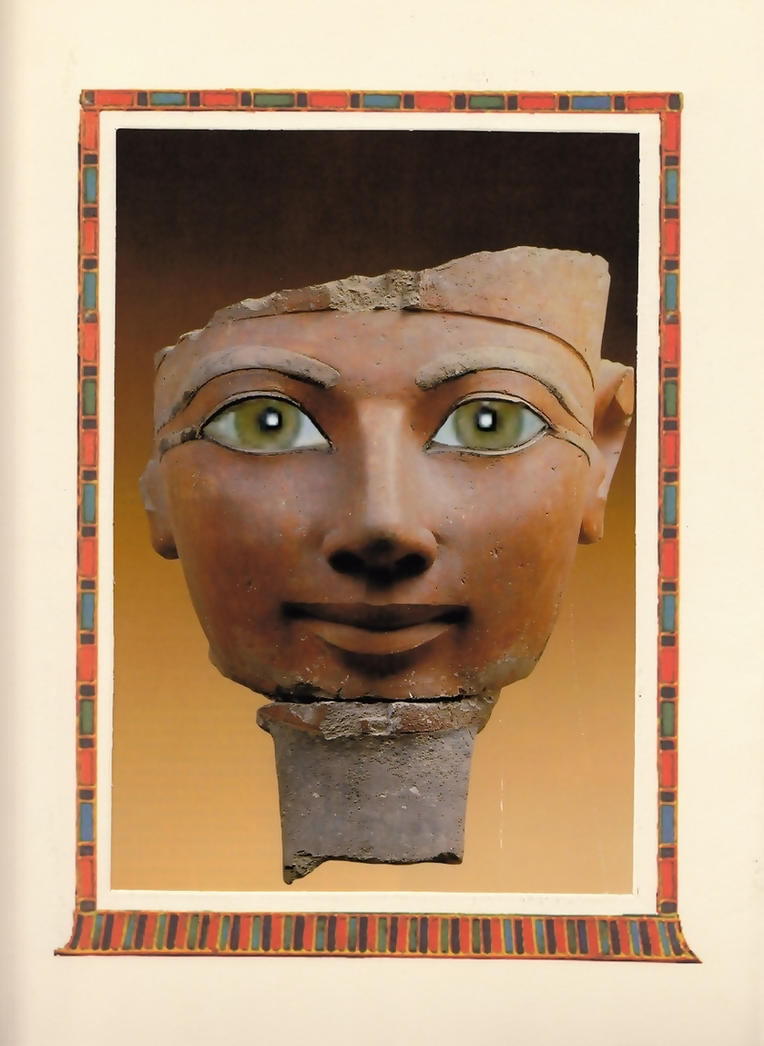 Queen Hatshepsut with my eyes by SelkisFritz
