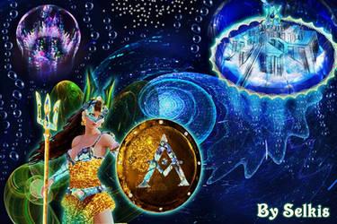 Antinea, Queen of Atlantis by SelkisFritz