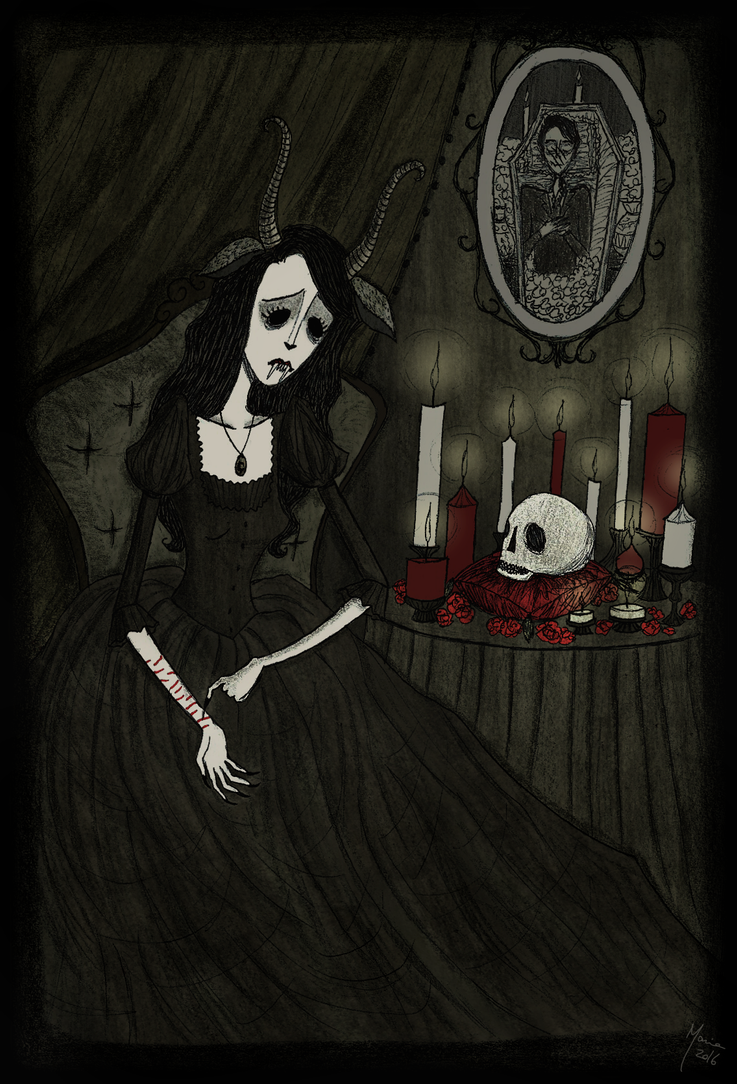 A Killer, Not a Lover by Maria-Mysteria