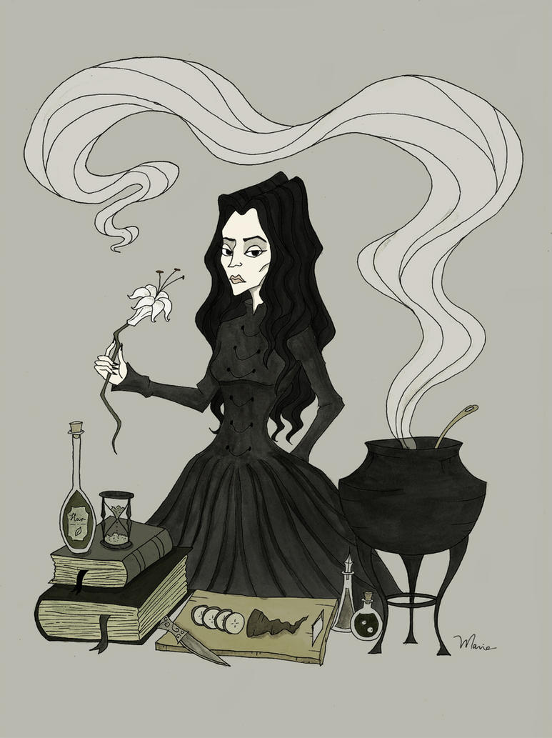 Severa Snape by TheMorbidMaria