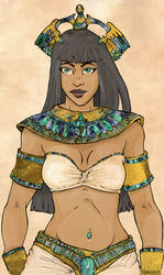 Egyptian Princess by Fayea