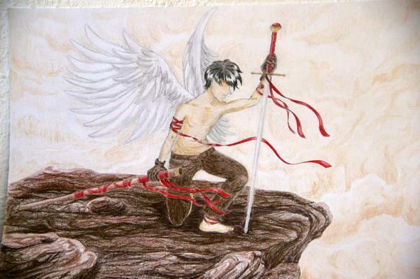 Sword Angel by Valesco