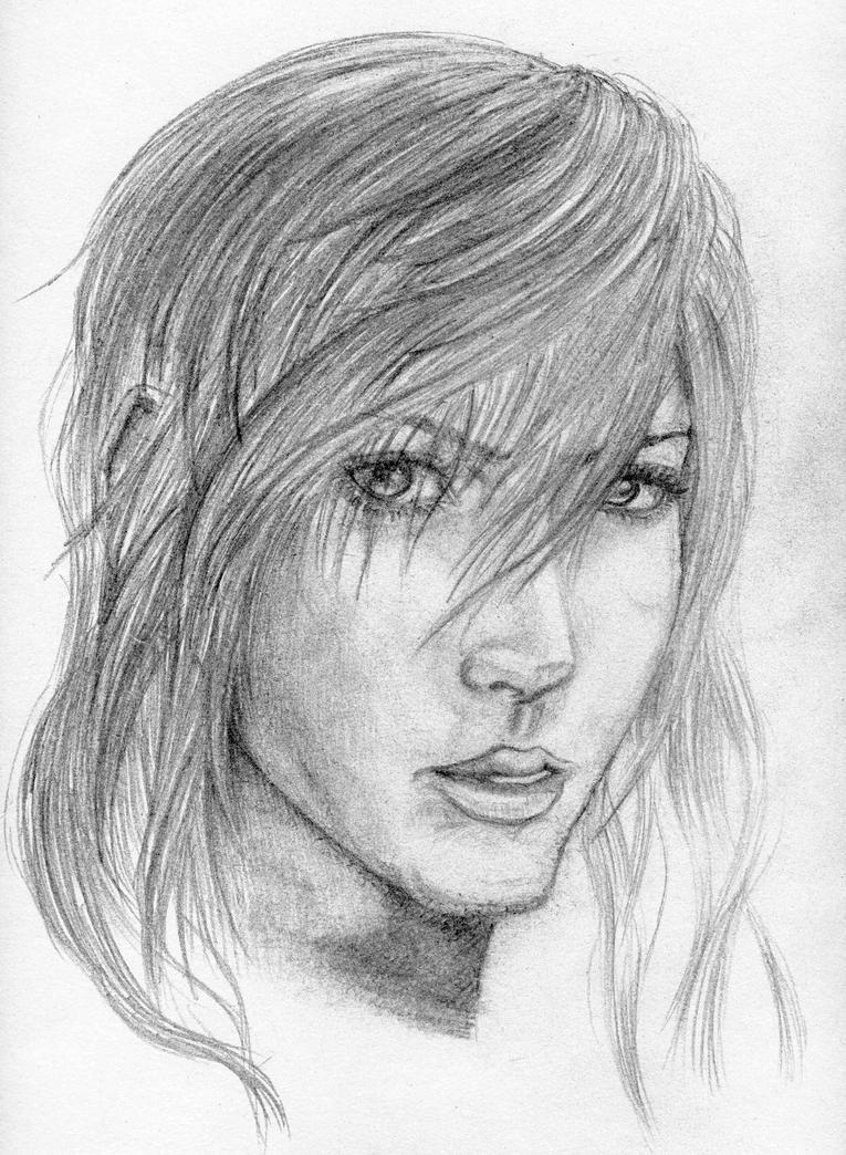 Lightning-Final Fantasy XIII by Valesco