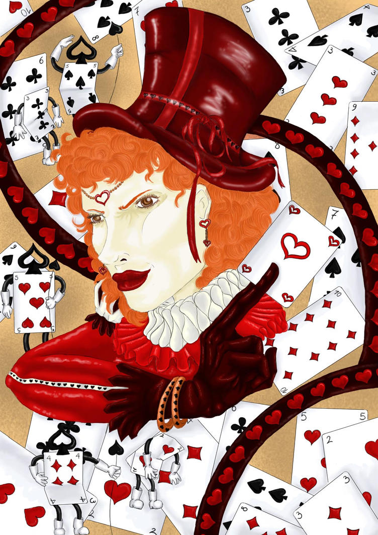Mad Hatter: Queen of Hearts by Valesco