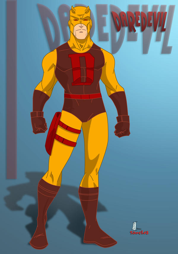 yellow daredevil high res by dicreilly