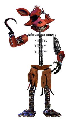 Nightmare Ignited Foxy by XSparklingIceX on DeviantArt |Ignited Foxy Full Body