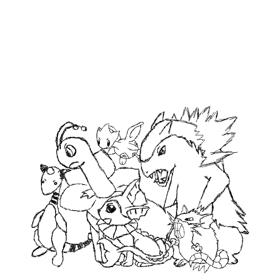 arcanine coloring pages - photo#25