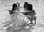 Friends wet