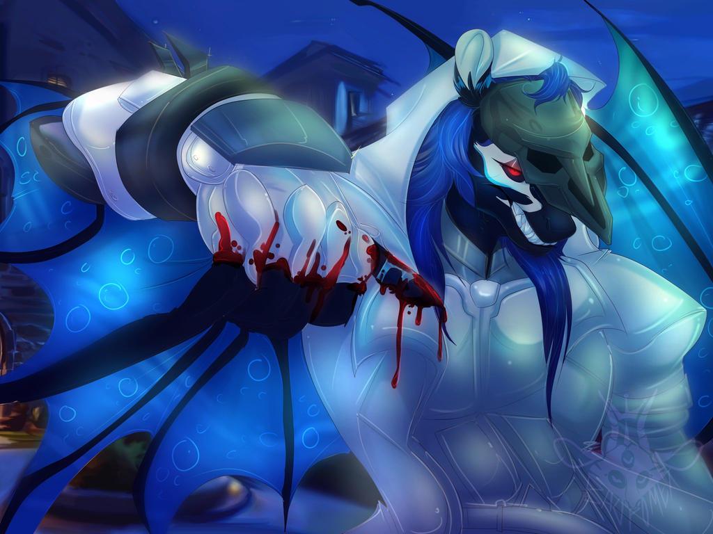 Calun Reaper Commission - Art by Badphomet