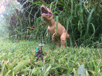 Tirithon and the Tyrannosaurus
