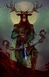 Elven Druid Tirithon
