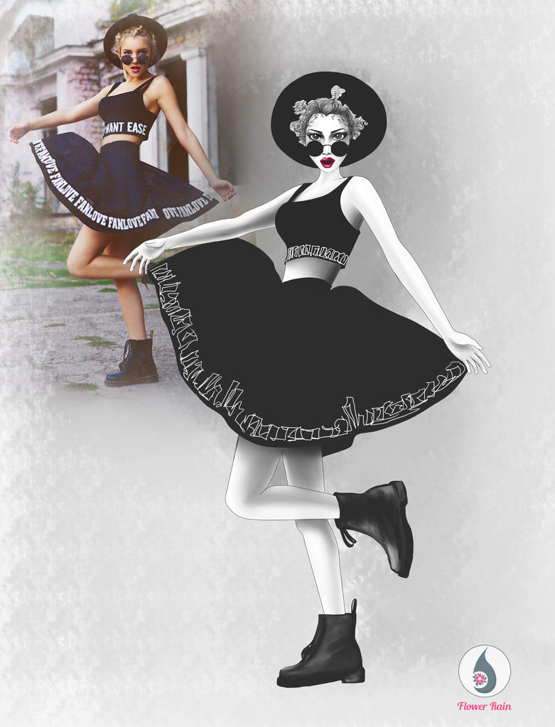 Fashion illustration 2 by Hikariuselen